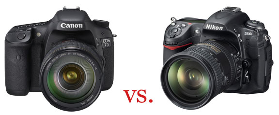 Canon 7D vs. Nikon D300s : Which is the right camera for you?