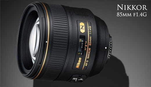 New Nikon Nikkor 85mm f1.4G Portrait Lens