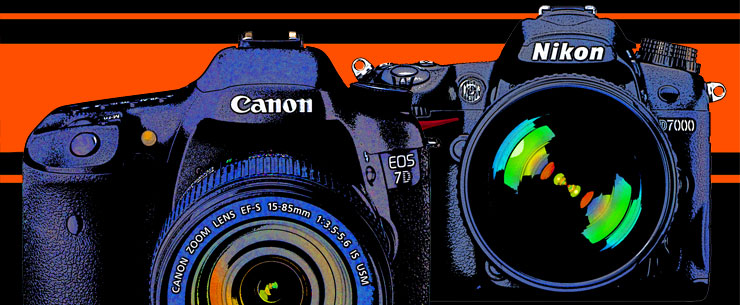 Canon 7D and Nikon D7000