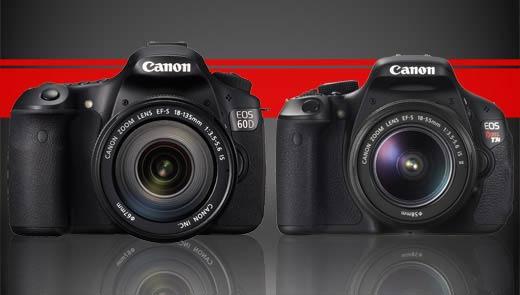 Canon t3i vs canon 60D
