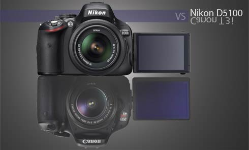 Canon T3i and Nikon D5100 Comparison