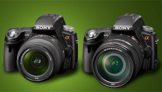 Sony a55 vs Sony a35