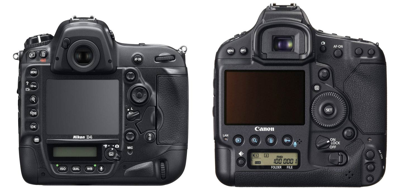 Backs, Canon 1DX and Nikon D4