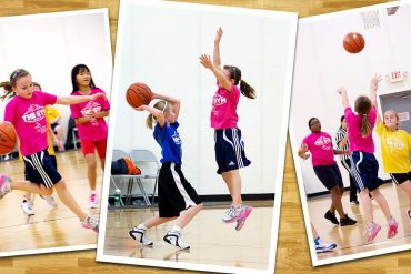 three basketball photos, for photography tips