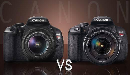 Canon T3i vs T4i