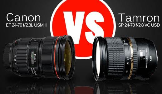 Lens Comparison: Canon EF 24-70 f/2.8L II vs. Tamron 24-70 f/2.8 VC