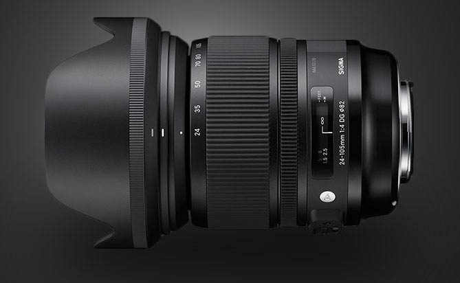 "Sigma Announces New 24-105mm f/4 ""Art"" Series Lens"