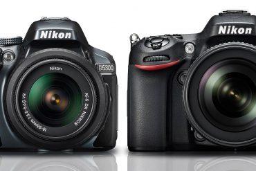 Nikon D5300 vs D7100