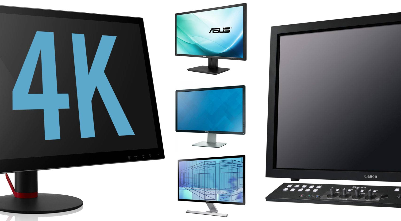 Best 4K Monitors for Photo Editing & Video: 2014 Roundup