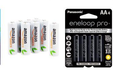 Amazonbasics and Eneloop batteries