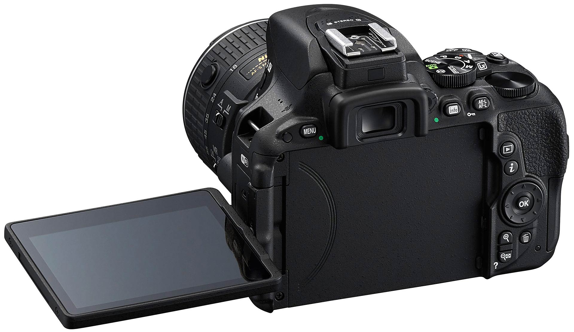 Nikon D5500 articulated screen