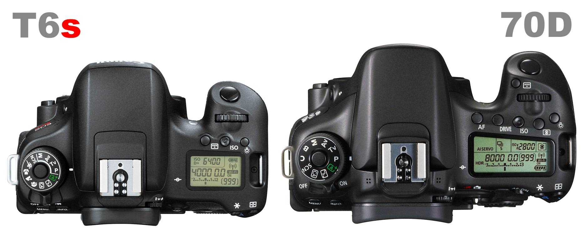 Camera Canon Dslr Camera 70d canon t6s vs 70d which should you buy light and matter like the has a top mounted lcd display for important setting information