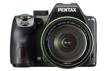 Pentax K-70 Front View
