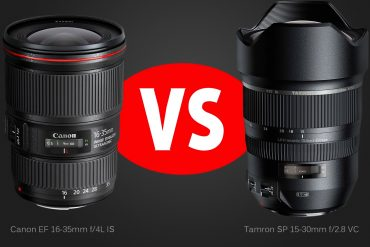 Lens Comparison: Tamron 15-30 f/2.8 VC vs. Canon 16-35 f/4 IS