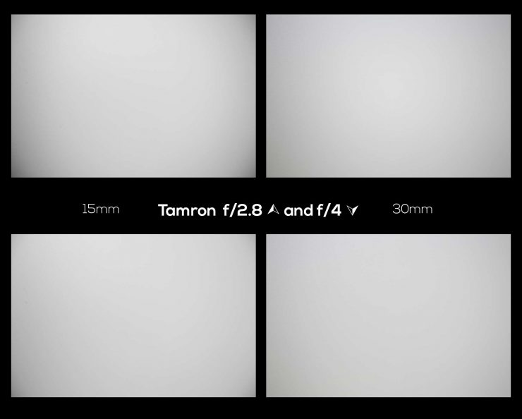 Examples of vignetting from the Tamron lens.
