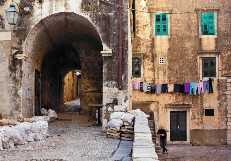 Dubrovnik back streets.