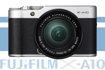 Fuji Announces the X-A10: Entry-Level X-Mount Camera
