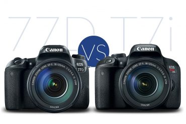 Canon T7i vs 77D : What's the Difference?