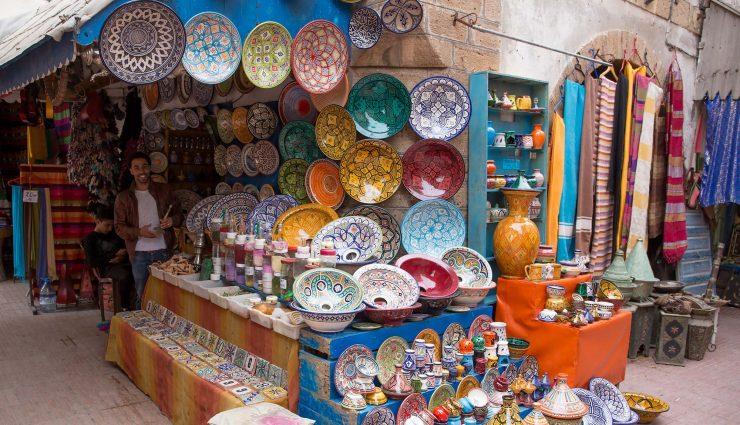 Safi pottery in Essaouira