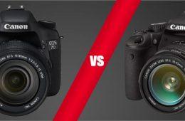 canon 7d vs canon rebel t2i