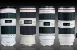 Canon 70-200 Lenses f2.8 f4