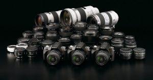 Sony's Line of Lenses