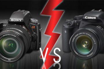 Sony Alpha a55 vs Canon T2i