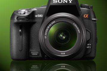 Sony a580 Alpha