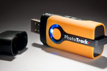 GiSTEQ PhotoTrackr Geotagging Unit