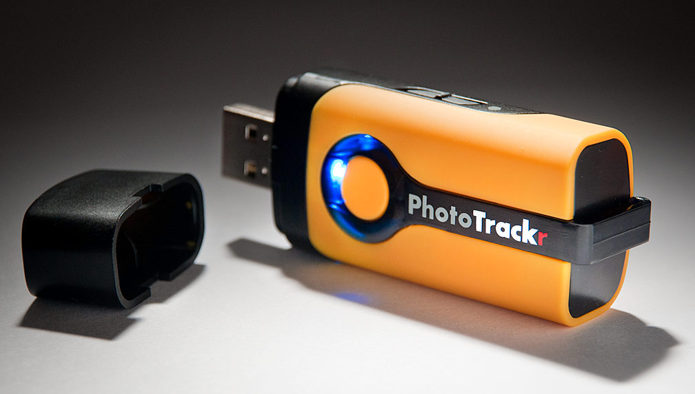 GiSTEQ PhotoTrackr Geotagging Unit