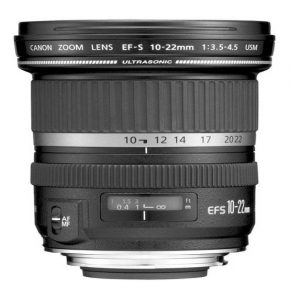 Canon 10-22mm Wide Angle Lens