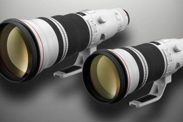 Canon EF 500mm f4L IS II USM and Canon EF 600mm f4L IS II USM