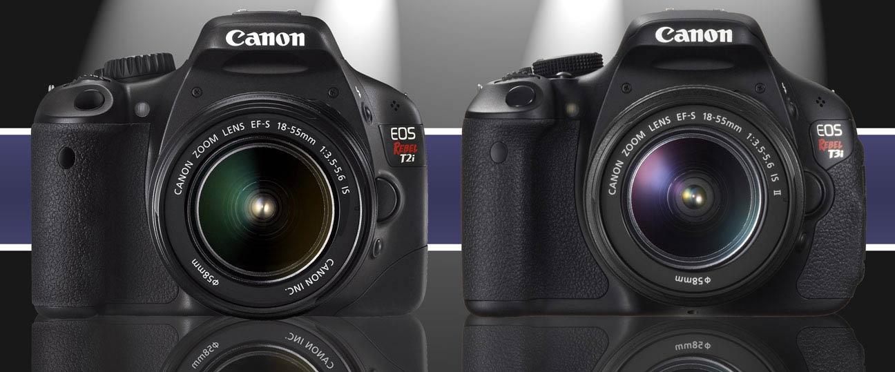 Canon T2i vs T3i Comparison
