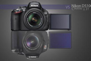 Nikon D5100 vs T3i