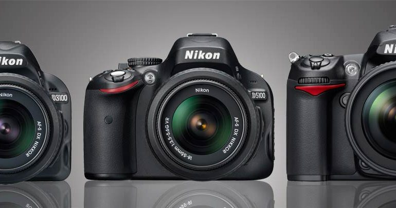 Nikon D3100 vs Nikon D5100 vs Nikon D7000