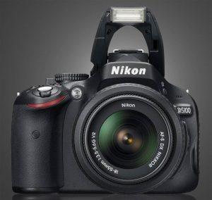 nikon d5100 with flash up
