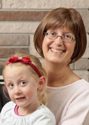 Trudi Spierling with Grand Daughter