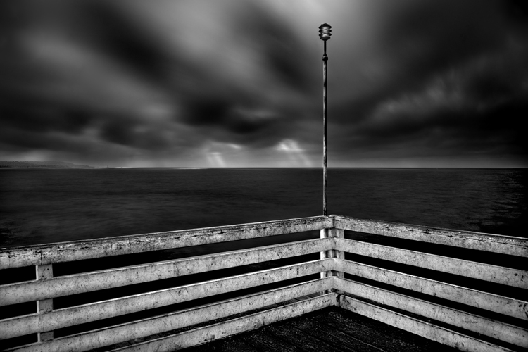 The Corner of the Pier, by Cole Thompson