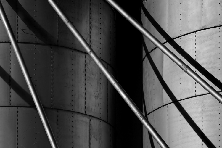 Silo Detail No. 54, by Cole Thompson