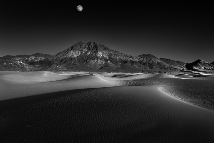 Death Valley Dune, by Cole Thompson