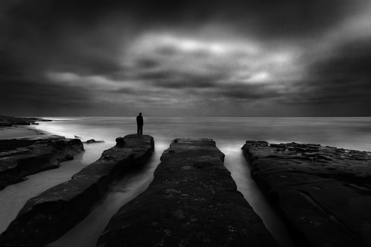 Lone Man No. 20, by Cole Thompson