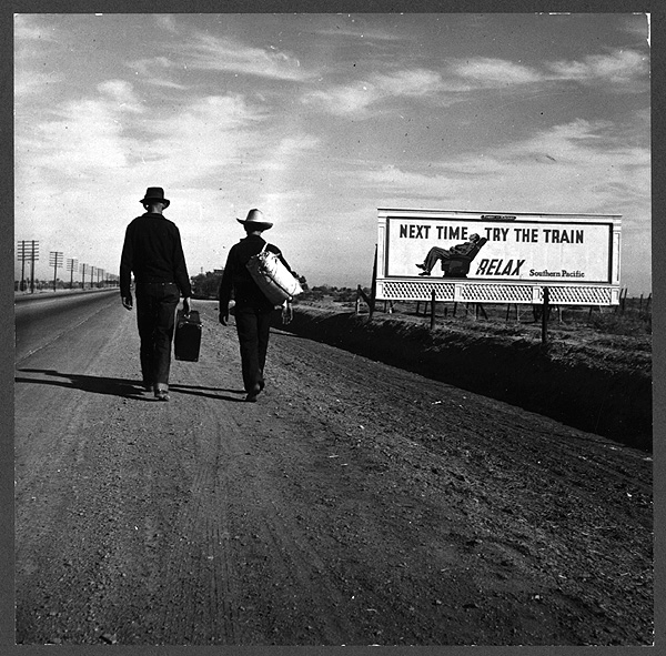Toward Los Angeles, California - 1937 - Dorothea Lange