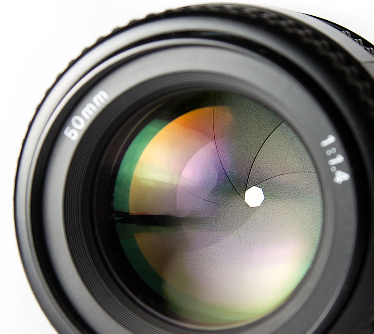 Nikon 50mm f/22 Aperture Example