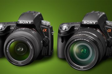 Sony a35 compared to Sony a55