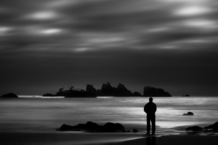Lone Man No. 8, Bandon OR, by Cole Thompson