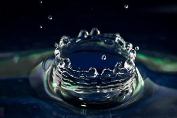Flash Shutter Sync - Water Droplet