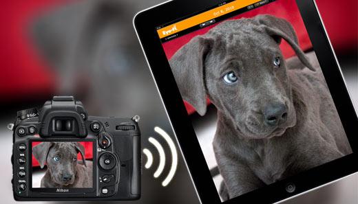 Eye-Fi Direct Connect to iPad