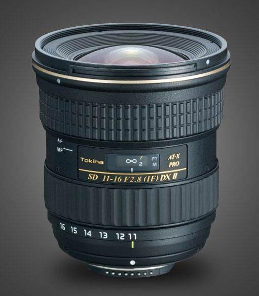 Tokina 11-16mm f/2.8 AT-X PRO DX II