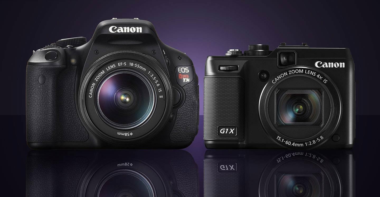 Canon T3i vs Powershot G1 X