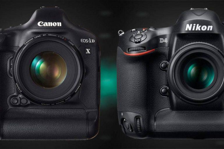 Canon 1DX vs Nikon D4, A Comparison